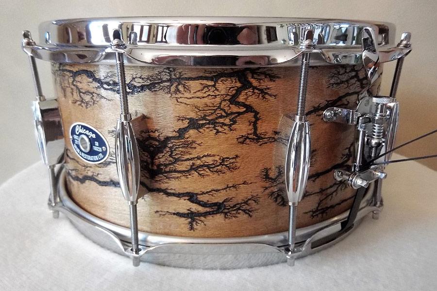 Maple Fractal Snare Drum