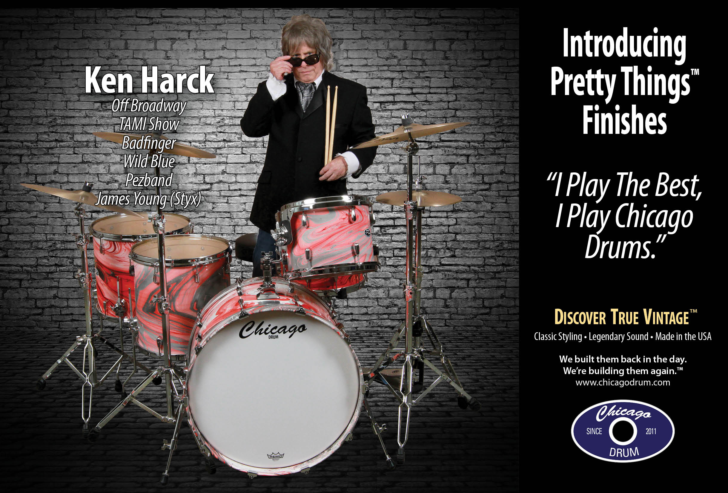 Pretty Things - Drum Finishes - Chicago Drum