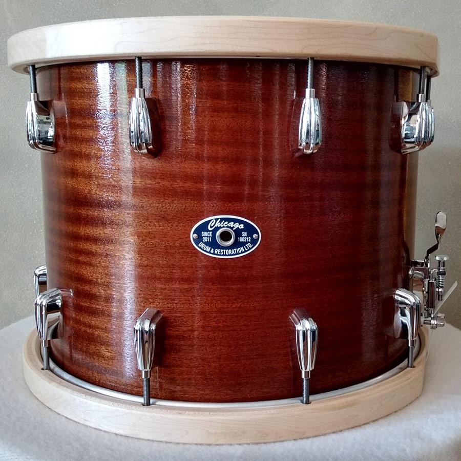 "12"" x 15"" Mahogany Marching Drum"