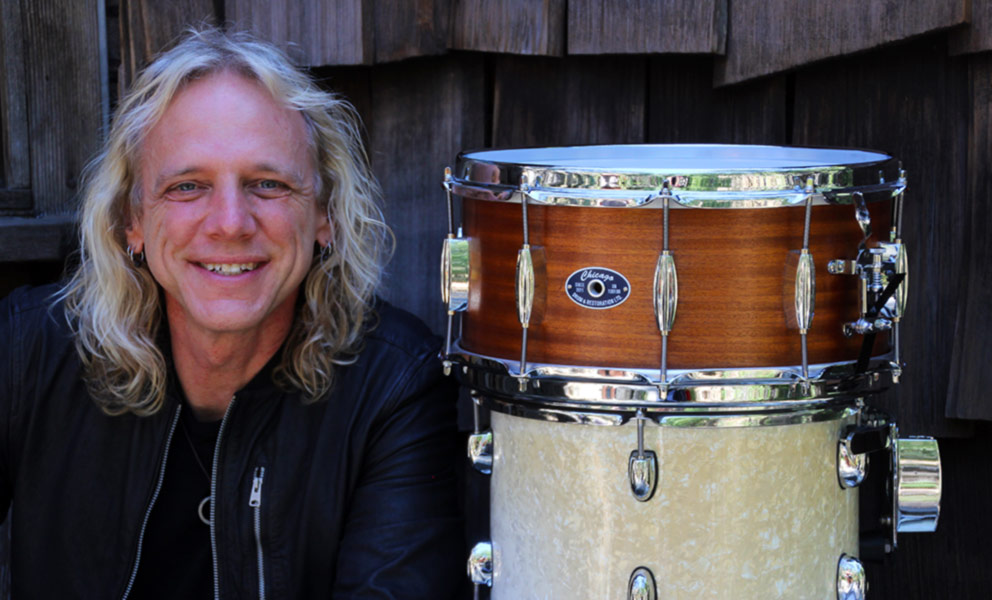 Mike Hansen with Mahogany Snare