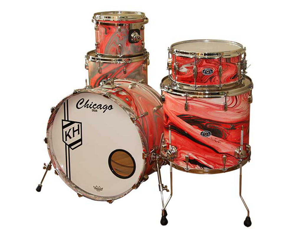 Pretty Things - Ken Harck Drum Set - Chicago Drum