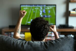 Like millions of other American males, I love to watch football. My wife thinks it's a total waste of time. She'd rather watch a nature program or a documentary about Marco Polo. Who would want to learn something when you can spend quality time yelling at your TV over the officiating?