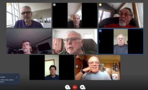 """For the adventurous Senior, try a group Zoom call. Together you can discuss fascinating topics like, """"Anyone having trouble with their dentures?"""" and """"Whatever happened to Carl? He was here a minute ago."""""""