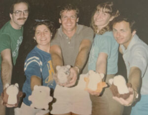 L to R: Dale, Cousin Betsy, Tim, Sister Betsy, Dave