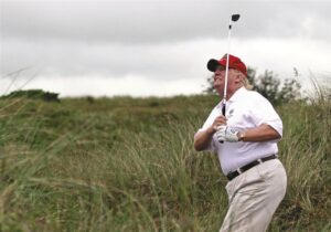 Fox News Trump, having successfully completed his historic 4-year plan to Make America Great Again, will take time off from his presidential duties for some down time. But he promises to get right back to work as your president after a brief 4-year golfing sabbatical.