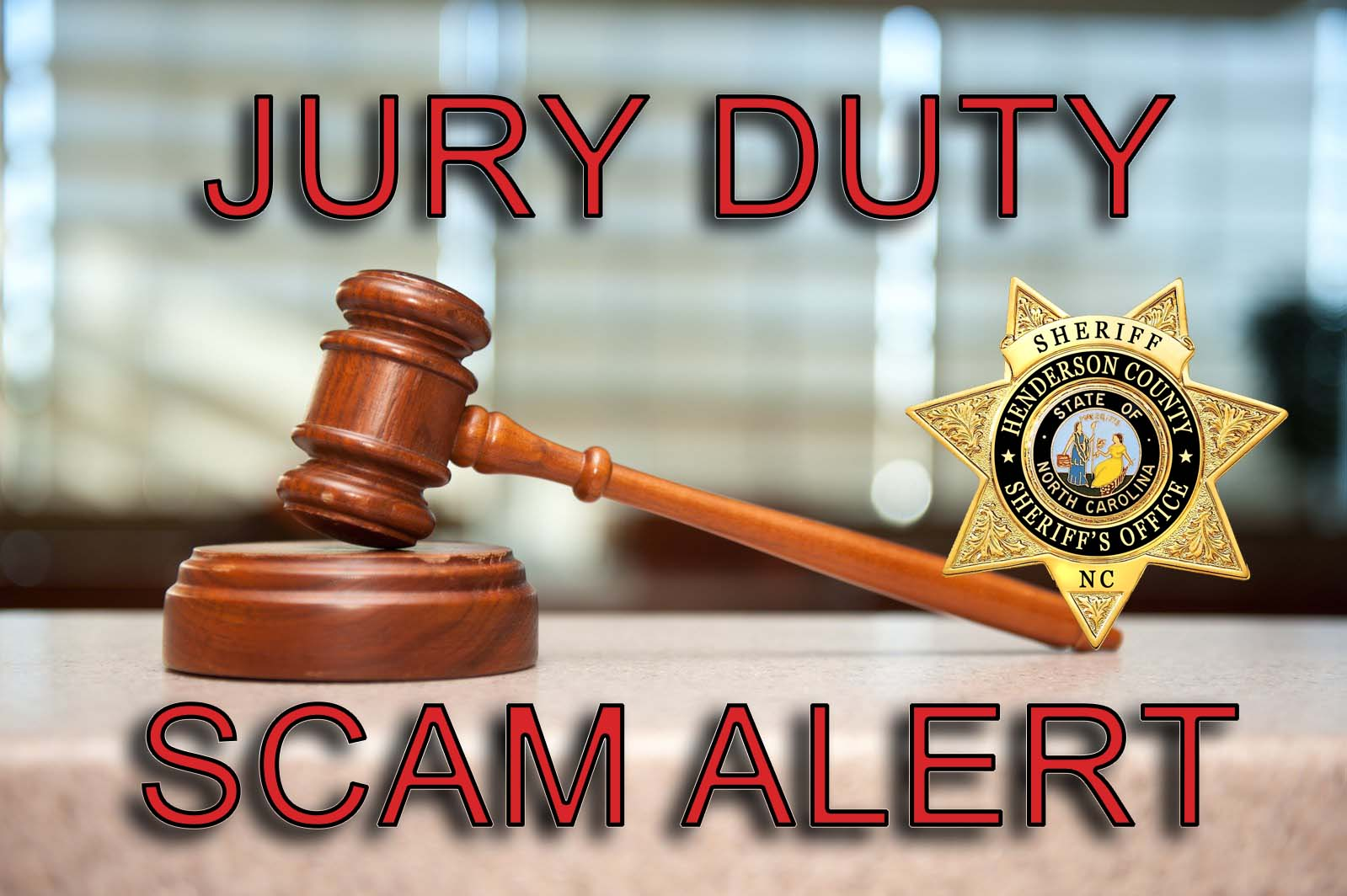 If ever you get a robocall telling you that you failed to show up for jury duty and that the sheriff is coming to arrest you, it's probably just a phone scam – unless you're my flaky, absent-minded friend, Bert Zingwold, in which case, yeah, it's probably for real. He's always forgetting about important appointments.