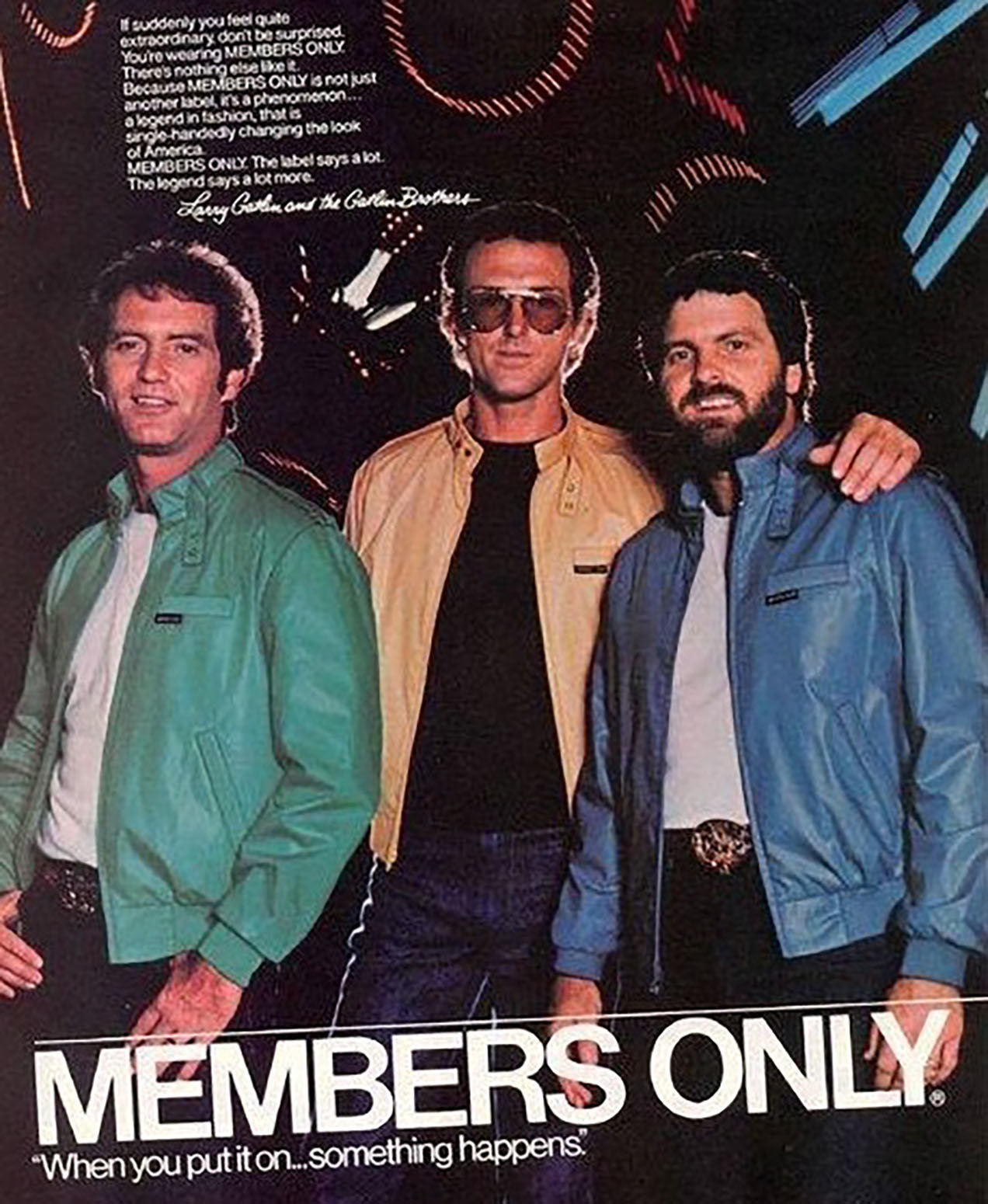 Despite hours and hours of trying, I can't figure out a way to upload any of my old outfits to the cloud – not even my 1983 Members Only faux-leather jacket.