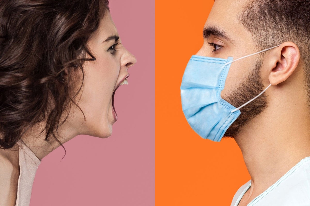 Millions of Americans are infuriated with each other. On one hand are people who believe COVID is a serious health threat and have chosen to get vaccinated and wear a mask to prevent others from getting infected. On the other hand (how can I put this as objectively and dispassionately as possible?) are IDIOTS.