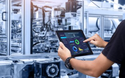 6 ways in which Industrial IoTs improve company performance.