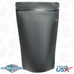 """6""""x9""""x3.5"""" Stand Up Cannabis Pouch"""