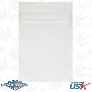 "Dura-Defense Cannabis Pouch 5"" W x 8"" H x 2.75"" G Stand Up, Bottom Gusset, Half Ounce"