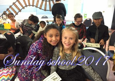 Sunday School 2017 Click or Touch Photo