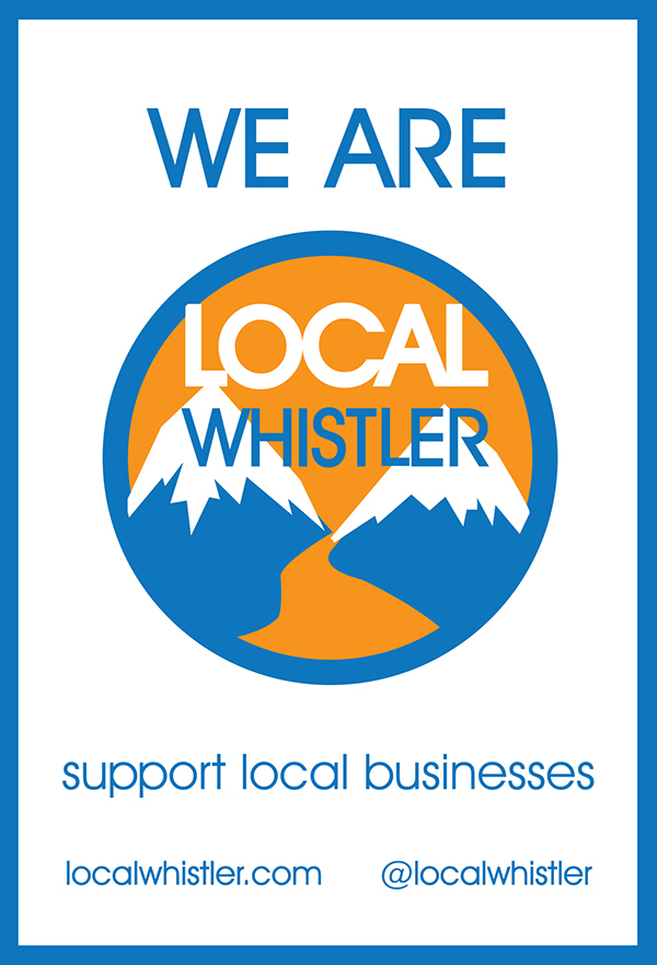 Local Whistler sign