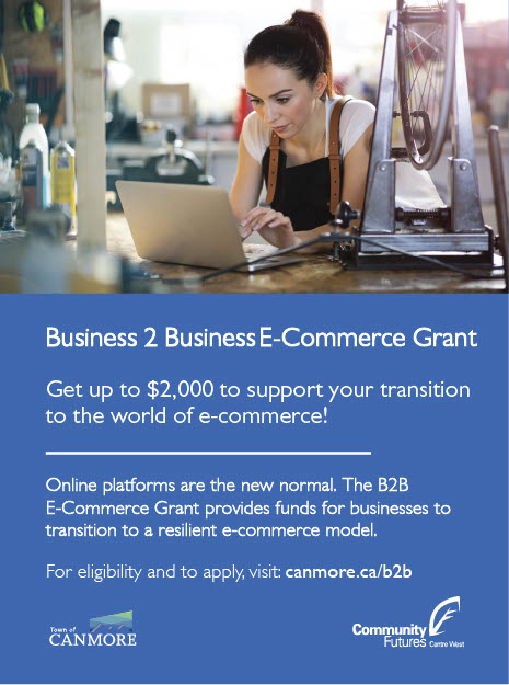 Town of Canmore - B2B E-Commerce Grant 2021