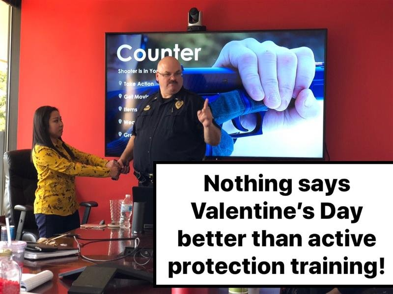 Mary Active Shooter Training