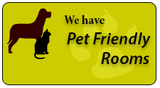 We're Pet Friendly