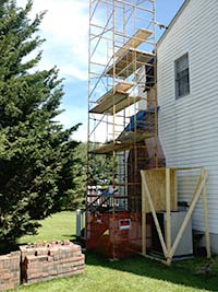 Chimney repair and construction