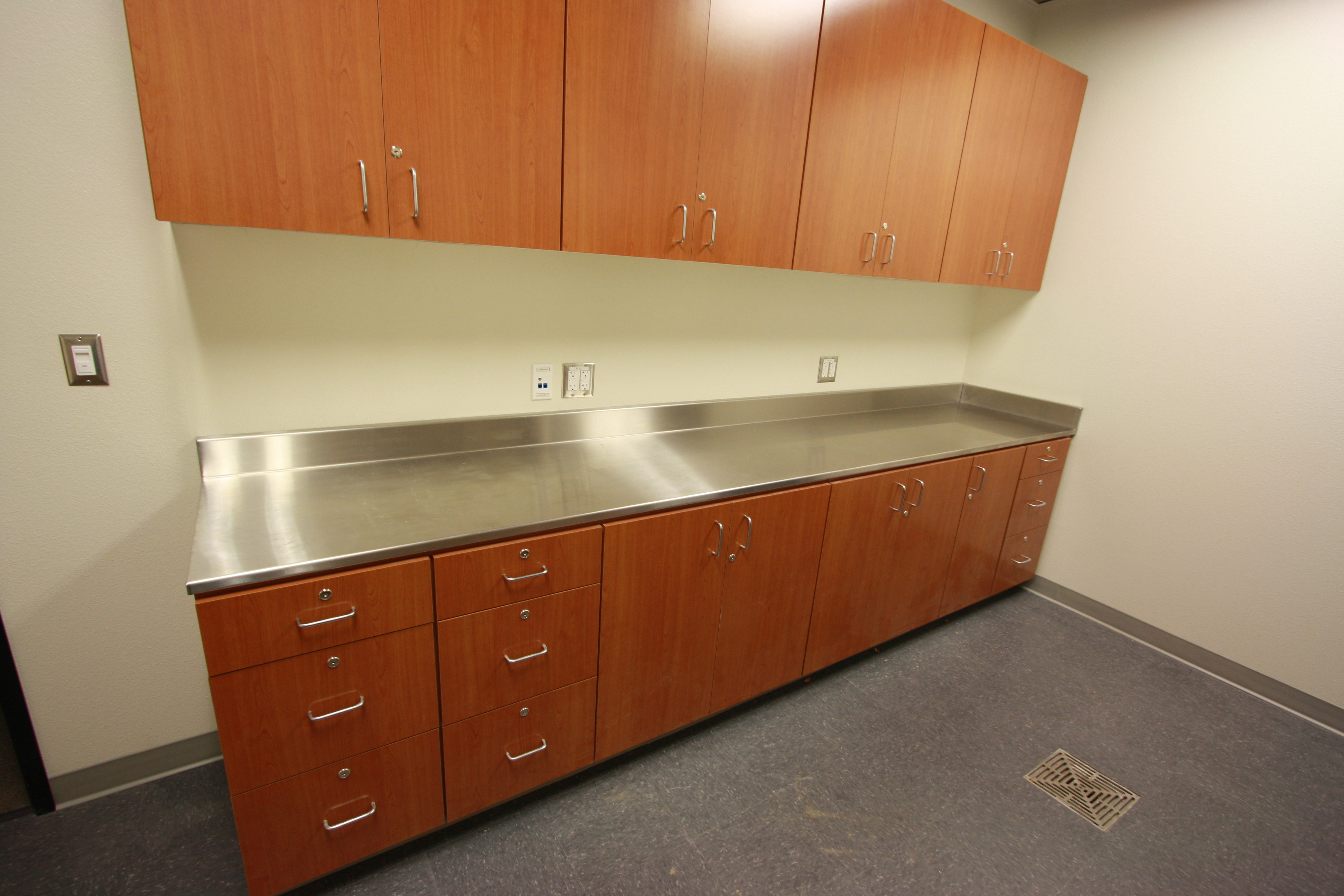 Custom Made Comercial Cabinets Andrews Fine Cabinets And Millwork