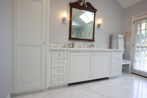 flush fit custom vanity