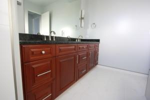 custom cherry cabinets