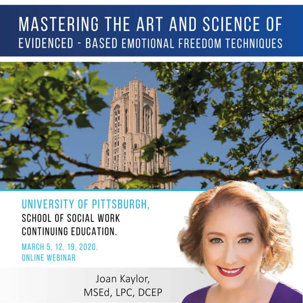 Joan Kaylor EFT course for professionals
