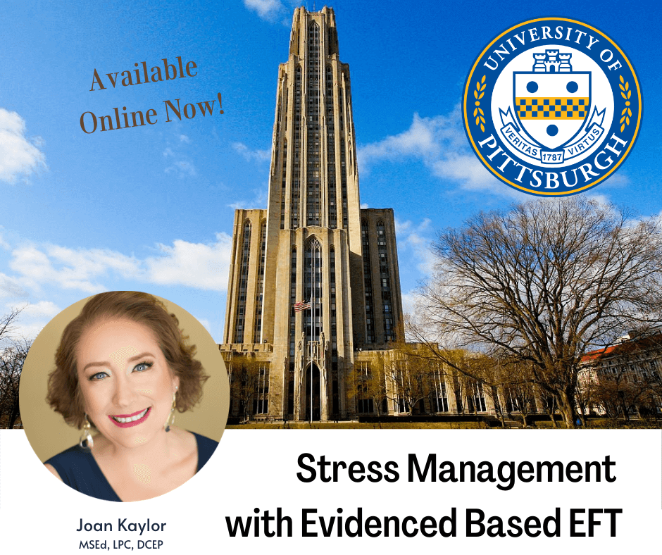 University of Pittsburgh, Stress Management course from Joan Kaylor