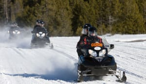 Yellowstone Snowmobiles