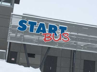 START Bus Reduces Service
