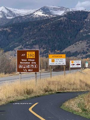 Reduce Speed on Highway 22