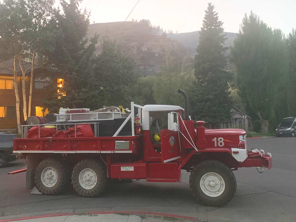 Jackson Engines Join California Wildfire Fight