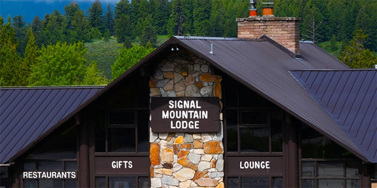 Signal Mountain Lodge is BEST