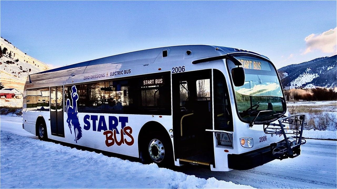 START Unveils Electric Bus