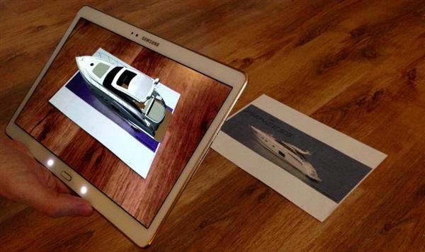 Interactive print AR