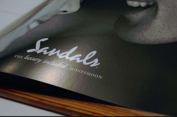 Sandals Beaches Honeymoon Brochure Sleeve