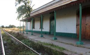 estación de tren de Santa Cruz Tlaxcala
