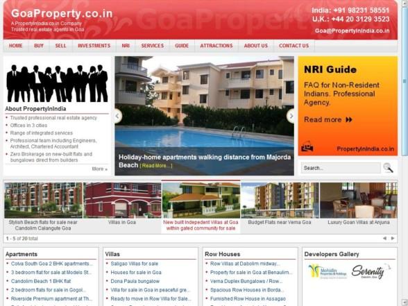 PropertyInIndia.co.in - Goa