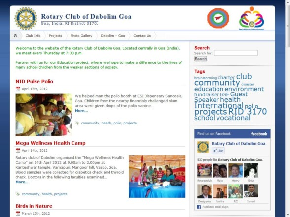 Rotary Club of Dabolim Goa