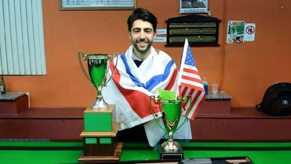 Sargon Isaac, U.S. National Snooker Champion
