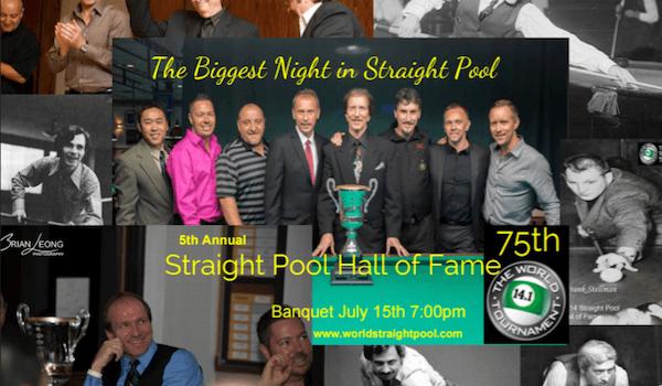 Straight Pool Hall of Fame