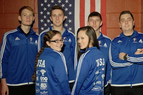 Team USA Lands In Europe