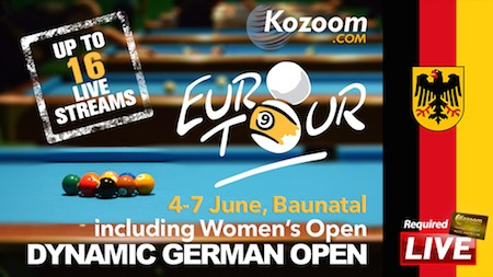 Follow the Action of the Dynamic German Open