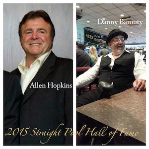 Allen Hopkins and Danny Barouty to Enter Straight Pool Hall of Fame