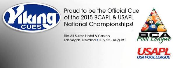 Viking – Official Cue BCAPL & USAPL National Championships
