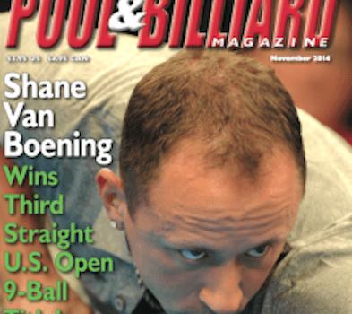 Shane Van Boening to Defend World Pool Masters Title in August
