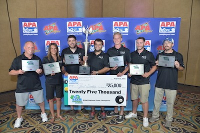 Michigan Team Wins APA 8-Ball Championship