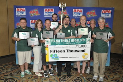 New Hampshire Team Wins APA 9-Ball Championship