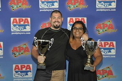 Jack & Jill 8-Ball Champions at 2015 APA Nationals