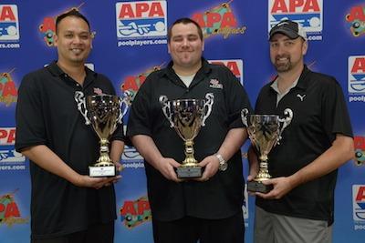 APA's 2015 Masters Championship Results