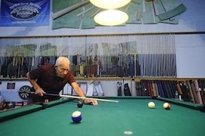 A Lifetime Sport: 102-Year-Old Plays in 8-Ball Tournament