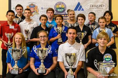 Billiard Education Foundation – Junior National Champions